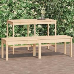 vidaXL Set de funda de edredón algodón azul 200x200/80x80 cm