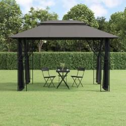 vidaXL Set funda de edredón diseño floral blanco 200x220/80x80 cm