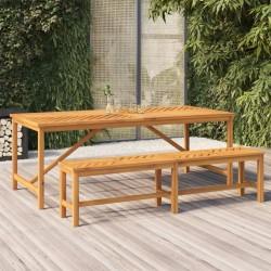 vidaXL Set de funda de edredón diseño a rayas rojo 240x220/60x70 cm