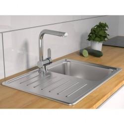 vidaXL Jardinera de gaviones de acero galvanizado 180x30x90 cm