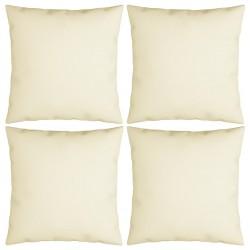 vidaXL Asiento de suelo plegable 2 unidades acero y tela azul