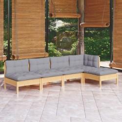 vidaXL Césped artificial con tacos rojo 2x1 m
