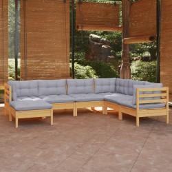 vidaXL Césped artificial con tacos rojo 3x1 m