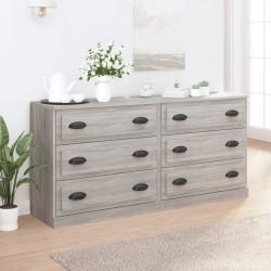 vidaXL Espejo de baño aglomerado blanco 80x10,5x37 cm