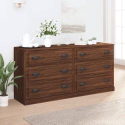 vidaXL Espejo de baño aglomerado negro brillante 80x10,5x37 cm