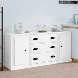 vidaXL Espejo de baño aglomerado gris brillante 80x10,5x37 cm