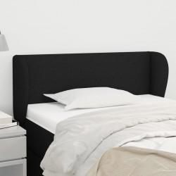 vidaXL Cancela de valla con una puerta y puntas acero negro 1x2 m