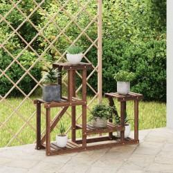 vidaXL Banco de madera de mango rugosa 110 cm