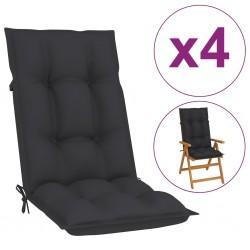 vidaXL Reloj de pared acrílico negro 30 cm