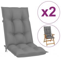 vidaXL Reloj de pared de hierro dorado 52 cm