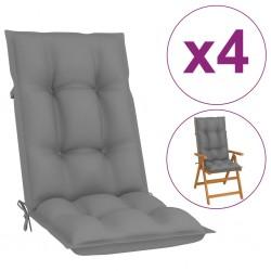 vidaXL Reloj de pared de hierro negro 52 cm