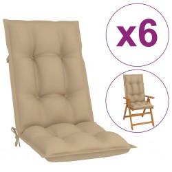 vidaXL Reloj de pared vintage con flores 60 cm