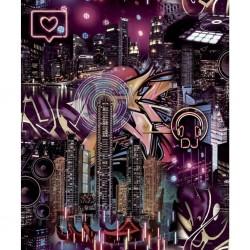 vidaXL Rollos de papel pintado 4 uds ladrillos marrón y rojo 0,53x10 m