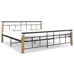 vidaXL Saco de dormir azul 5℃ 1400g