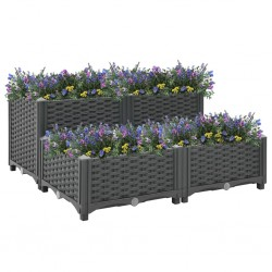 Tander Base de sombrilla granito negra 47x47x4,5 cm
