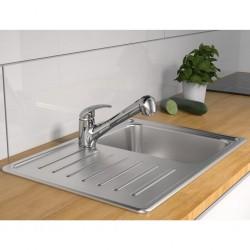 vidaXL Casa de animales pequeños jaula conejera con tejados madera