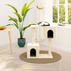 vidaXL Jaula para pájaros madera 65x63x165 cm