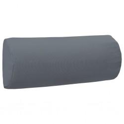 vidaXL Carrito para dos bebés tandem gris taupe y negro de acero