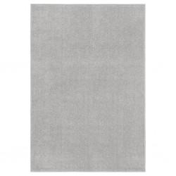 vidaXL Rascador para gatos con poste de sisal 95 cm huellas gris
