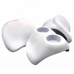 vidaXL Rascador para gatos con poste de sisal 60 cm azul oscuro