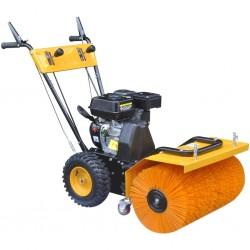 vidaXL Rascador para gatos con poste de sisal 230-260 cm huellas beige