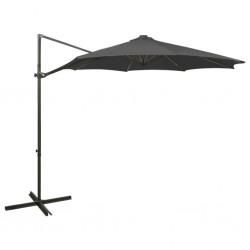vidaXL Corral para perros 12 paneles de acero 80x60 cm negro