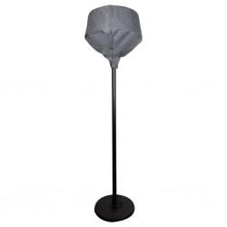 vidaXL Corral para perros 8 paneles de acero 80x100 cm negro