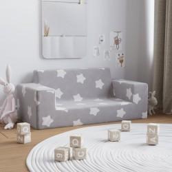 vidaXL Rascador para gatos con poste de sisal 138 cm huellas gris
