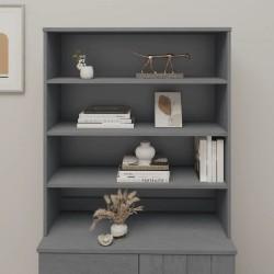 vidaXL Rascador para gatos con poste de sisal 105 cm gris