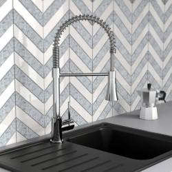 vidaXL Rascador para gatos con postes de sisal marrón 160 cm