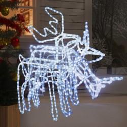vidaXL Jaula conejera con 1 puerta madera marrón