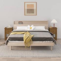 vidaXL Jaula conejera con 1 puerta madera rojo
