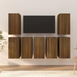 vidaXL Kit de estudio fotográfico con 5 fondos de colores y marco ajustable