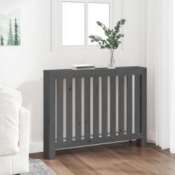 vidaXL Armario archivador 3 cajones acero gris 102,5 cm