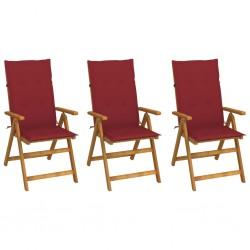 vidaXL Silla de escritorio reclinable Racing con reposapiés azul
