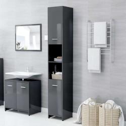 vidaXL Silla de oficina con respaldo de malla y tela roja
