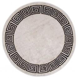 vidaXL Barandilla de seguridad cama de niño poliéster taupe 150x42 cm