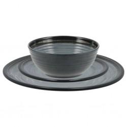 Tander Trituradora de papel cortadas en tiras 6 hojas negro
