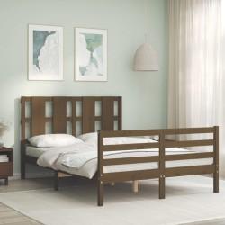 Tander Cama de camping tela Oxford y acero rojo 180x60x19 cm