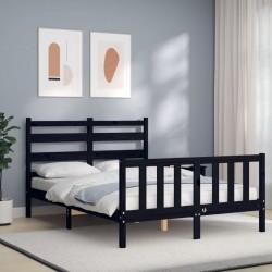 Tander Cubo de basura doble plateado y blanco 50 L