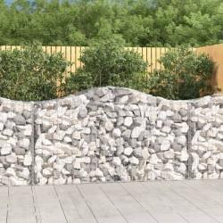 Tander Tarros de almacenaje con tapa de bambú 10 unidades 260 ml
