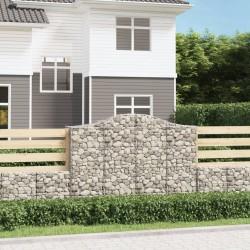 Tander Botellas pequeñas de vidrio con tapón de rosca 20 uds 260 ml