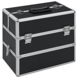 Tander Azulejos de mosaico 22 unidades vidrio negro y rojo 30x30 cm