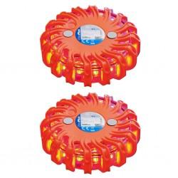 Tander Azulejo mosaico autoadhesivo 11 uds vidrio azul y gris 30x30 cm