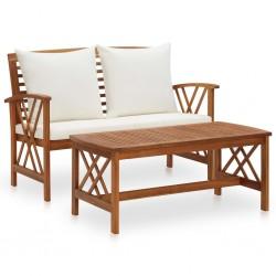 Tander Paneles de revestimiento de pared 10 uds 1,03 m² teca reciclada