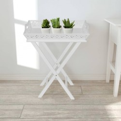 vidaXL Taburete de oficina rojo