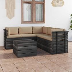Tander Mesa infantil con 2 sillas MDF blanco