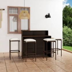 Tander Funda de muebles de jardín 2 uds forma L 12 ojales 250x250x90cm