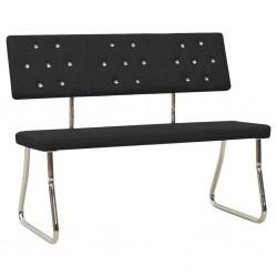 Banco de almacenamiento de madera marrón 2 cestas tejidas Cojín