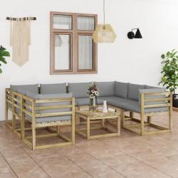 Tander Árbol de pared con gancho metálico 260 LED blanco cálido 3 m